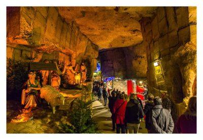Valkenburg - Weihnachtsmarkt - große Halle