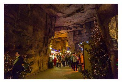 Valkenburg - Weihnachtsmarkt - hohe Gänge