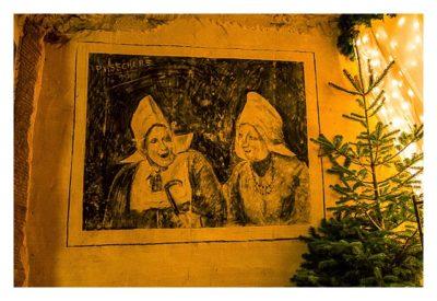 Valkenburg - Weihnachtsmarkt - holländische Frauen