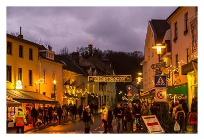 Valkenburg - Weihnachtsmarkt - In den Straßen