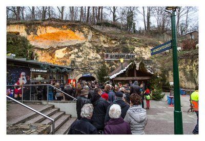 Valkenburg - Weihnachtsmarkt - Am Eingang