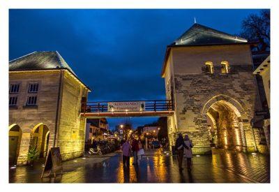 Valkenburg - Weihnachtsmarkt - Stadttor