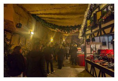 Valkenburg - Weihnachtsmarkt - in der Gemeindegrotte