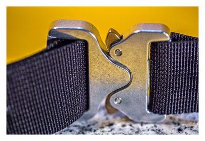 CGA-Gürtel 2.0 - Rückseite der Gürtelschnalle