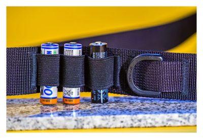CGA-Gürtel 2.0 - Kugelschreiber- und Akku-Halter