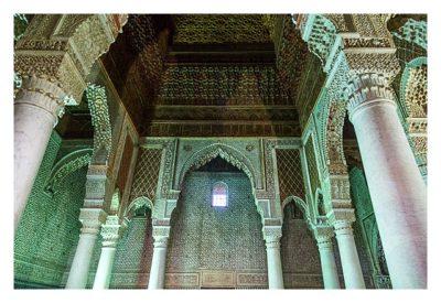 Marrakesch - Gräber der Saadier - Innenraum