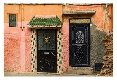 Marrakesch - In der Altstadt