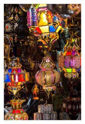 Marrakesch - Souk - Lampenhändler
