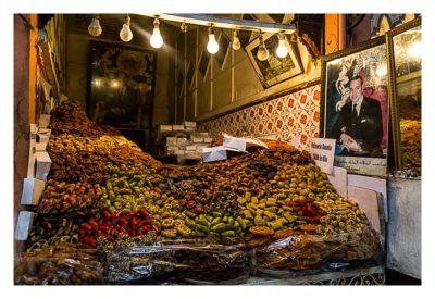 Marrakesch - Souk - Gemüsehändler