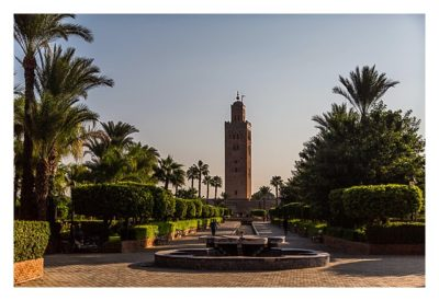 Marrakesch - Koutobia mit Gärten