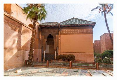 Marrakesch - Gräber der Saadier