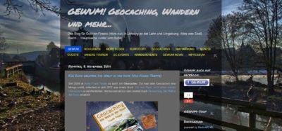 Screenshot vom Blog GEWUM