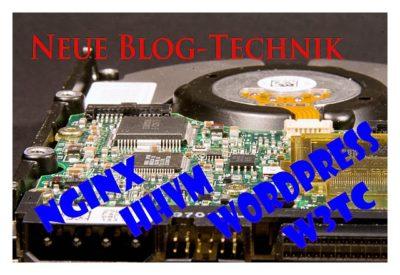 Neue Blog-Technik: NGINX, HHVM, WordPress, W3TC