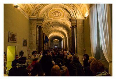 Rom: Der Vatikan - Stau vor der Sixtinischen Kapelle