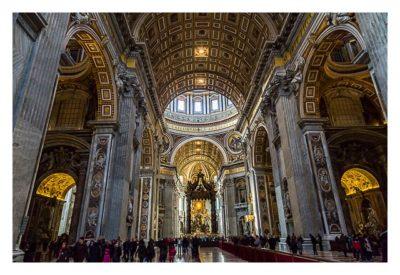 Rom: Der Vatikan - Im Petersdom