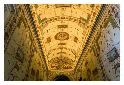 Rom: Der Vatikan - Deckengemälde im Museum