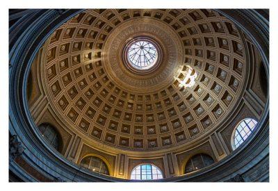 Rom: Der Vatikan - Kuppel im Vatikanischen Museum