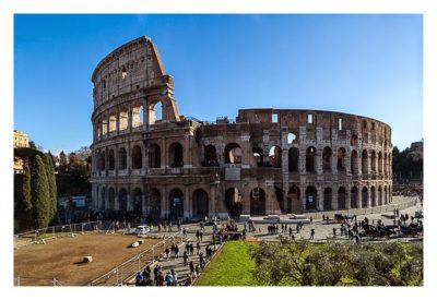 Rom: Geocaching bei den alten Römern: das Kolosseum