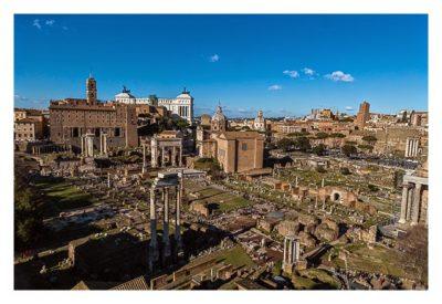 Rom: Geocaching bei den alten Römern: Palatin - Blick von der Aussichtsterrasse