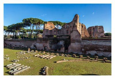 Rom: Geocaching bei den alten Römern: Palatin - Stadion des Domus Augustana