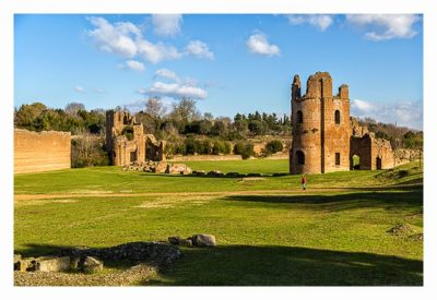 Rom: Geocaching bei den alten Römern: Via Appia Antica - Circus des Maxentius