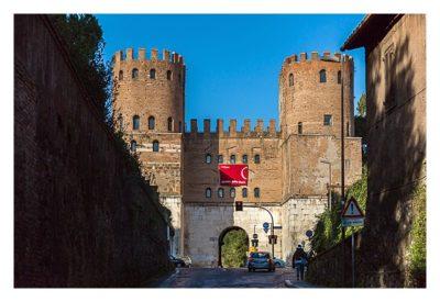 Rom: Geocaching bei den alten Römern: Via Appia Antica - Stadttor San Sebastian
