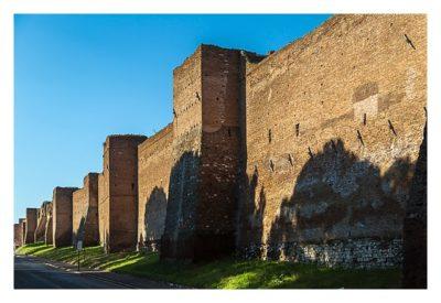 Rom: Geocaching bei den alten Römern: Via Appia Antica - Stadtmauer
