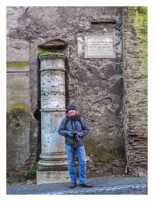 Rom: Geocaching bei den alten Römern: Saarfuchs mit Fotoapparat