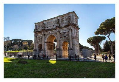 Rom: Geocaching bei den alten Römern: Konstantin-Bogen