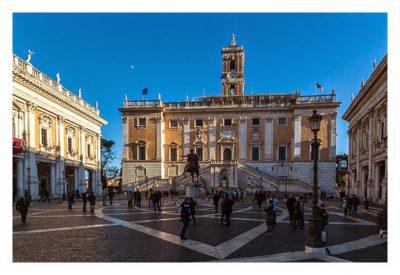 Rom: Geocaching über Silvester - Kapitol