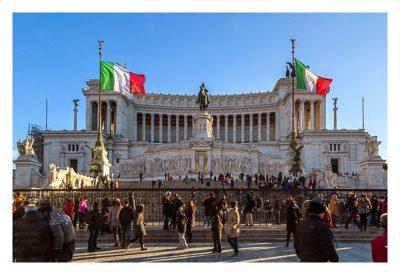 Rom: Geocaching über Silvester - Monumento Vittorio Emanuele II