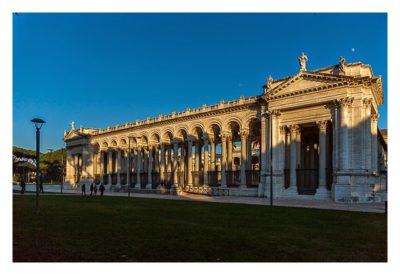 Rom: Geocaching über Silvester - Sankt Paul vor den Mauern: Außenansicht
