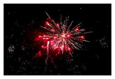 Rom: Geocaching über Silvester - Piazza del Popolo: Feuerwerk