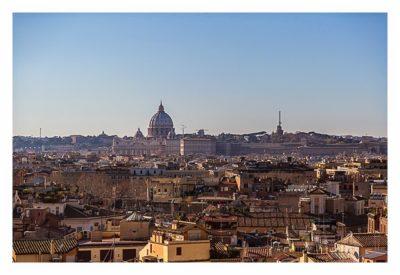 Rom: Geocaching über Silvester - Blick über Rom