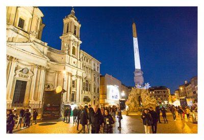 Rom: Geocaching über Silvester - Piazza Navona