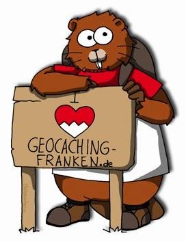 Geocaching-Franken - Maskottchen Franky
