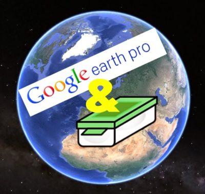 Google Earth Pro und Geocaching