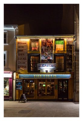Abendliches Geocaching in Kilkenny - Pub The Field