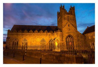 Abendliches Geocaching in Kilkenny - Black Abbey