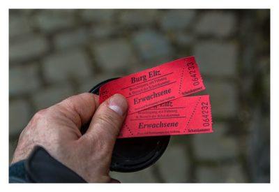 Ältester Geocache Deutschlands - Eintrittskarten für die Burg Eltz