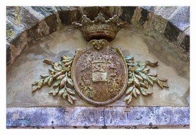 Ältester Geocache Deutschlands - Wappen der Burg Eltz