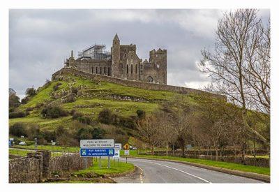 Rock of Cashel - Blick aus der Parkbucht