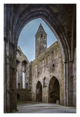 Rock of Cashel - In der Kathedrale