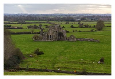 Rock of Cashel - Hore Abbey