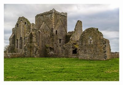 Rock of Cashel - Die Mauern der Hore Abbey