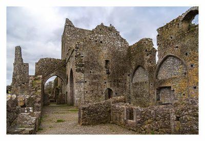 Rock of Cashel - in der Hore Abbey
