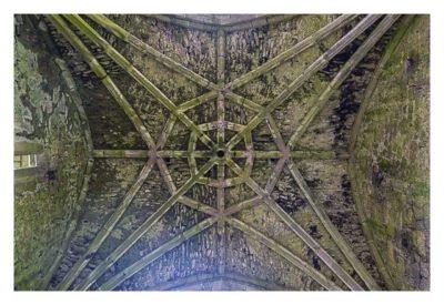 Rock of Cashel - Hore Abbey - das Deckengewölbe