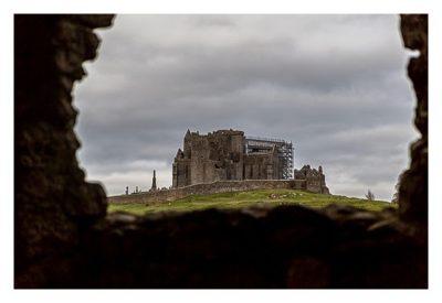 Rock of Cashel - Hore Abbey - Blick zum Felsen