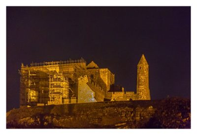 Rock of Cashel - Bei Nacht
