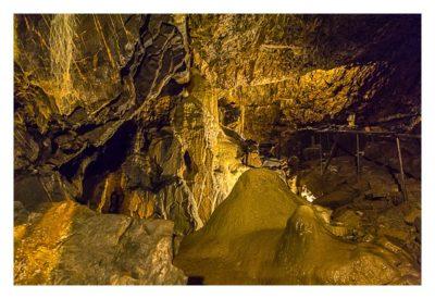 Die Höhle von Mitchelstown - In der Höhle